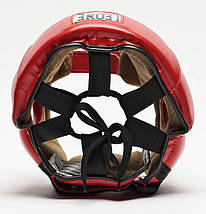 Боксерский шлем Leone Training Red L, фото 3
