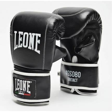 Снарядні рукавички Leone Contact Black L, фото 2