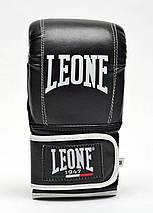 Снарядні рукавички Leone Contact Black L, фото 3