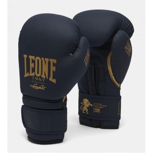Боксерские перчатки Leone Mono Blue 10 ун.