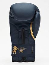 Боксерские перчатки Leone Mono Blue 10 ун., фото 2