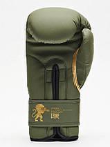 Боксерські рукавички Leone Mono Military 10 ун., фото 2