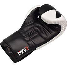 Боксерские перчатки RDX Black Pro 12 ун., фото 2