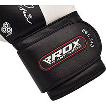 Боксерские перчатки RDX Black Pro 12 ун., фото 3