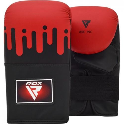 Снарядные перчатки, битки RDX Black Red