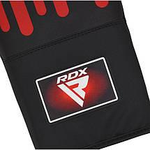 Снарядные перчатки, битки RDX Black Red, фото 3