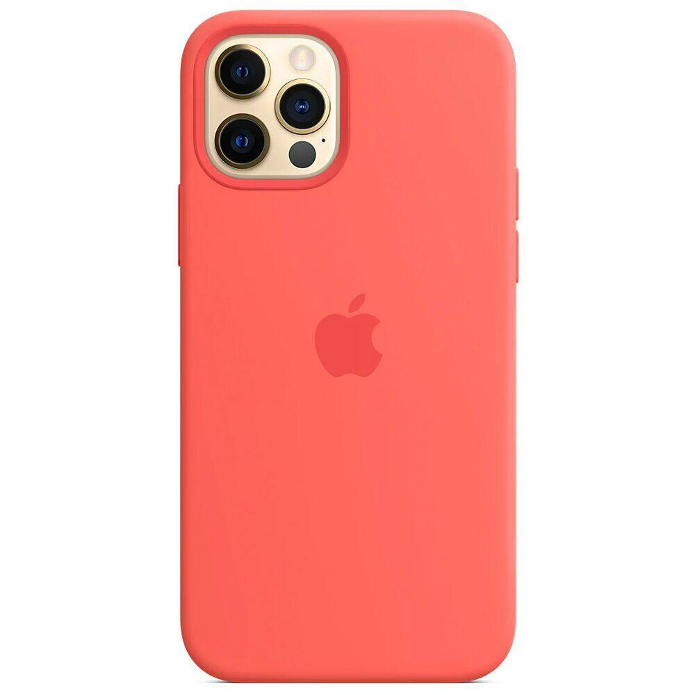 Чохол MagSafe Silicone Case для Apple iPhone 12 PRO max, Pink Citrus