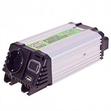 Преобразователь напряжения 12V-220V/300W/ USB-5VDC2.0A/клеммы/ PULSO IMU- 320