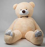 Плюшевый мишка Мистер Гигант 2 м 50 см (бежевый) медведь подарок для любимой девушки