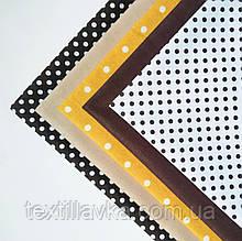 """Набор ткани для рукоделия """"Тирамису"""" из 5 шт."""