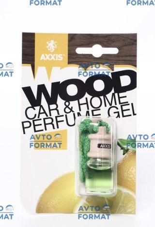 """Ароматизатор автомобильный аромат  AXXIS """"Wood"""" Lemon 7ml"""