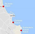 ФАЛИРАКИ - нудистский пляж на острове Родос, Греция, фото 2