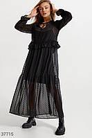 Длинное платье в бохо-стиле