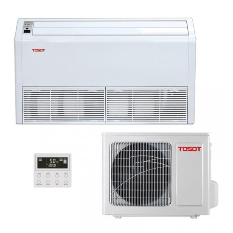 Напольно-потолочный кондиционер Tosot TUD50ZD/A-S/TUD50W/A-S