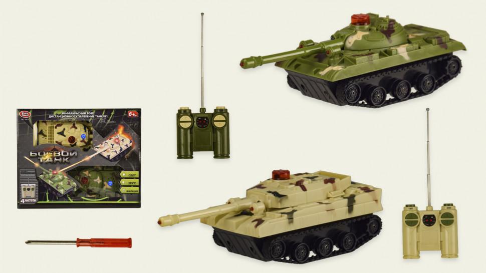 Танки на радиоуправлении 2шт Набор танковый бой 9672
