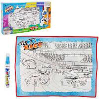 Коврик для рисования с водным маркером (мальчик, девочка)