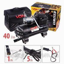 Компрессор VOIN 585 150psi/15A/40л/прикур./переход на клем.