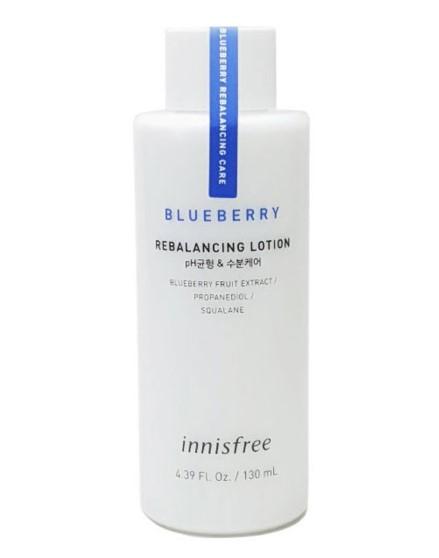 Лосьон на основе экстракта черники Innisfree Blueberry Rebalancing Lotion 130 мл