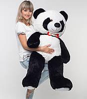 Плюшевый мишка Мистер Панда 135 см маленькая мягкая игрушка на подарок в день рождения