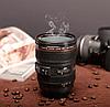 Чашка объектив CANON   Термо кружка, фото 3