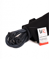 Борцовская резина 12 мм (5м) черная в комплекте с чехлом