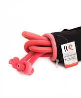 Борцовская резина 18 мм (5м) красный в комплекте с чехлом