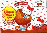 Шоколадные шары Чупа чупс Hallo Kitty Chups Chups, 18 шт