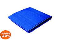 Тент Mastertool - 3 х 4 м, 65 г/м², синий 1 шт.