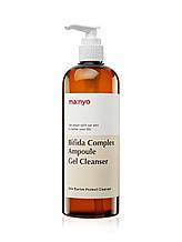 Гель для вмивання з біфідо-і лактобактеріями Bifida Complex Ampoule Gel Cleanser Manyo 400 ml