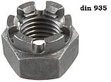 Гайка DIN 935 М33 корончатая, фото 3