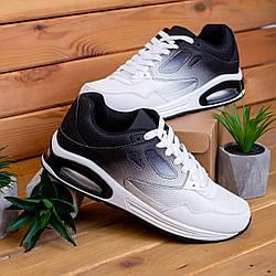 Мужские кроссовки Ривал 87 (черно-белые) 44-45р