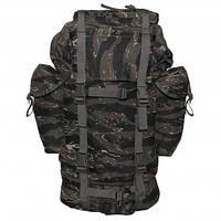 Рюкзак 65л тигровий камуфляж MFH