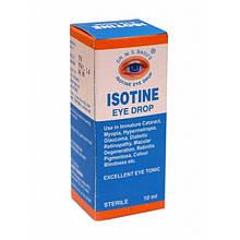 Аюрведичні очні Краплі Айсотин 10 мл - Isotine eye drop