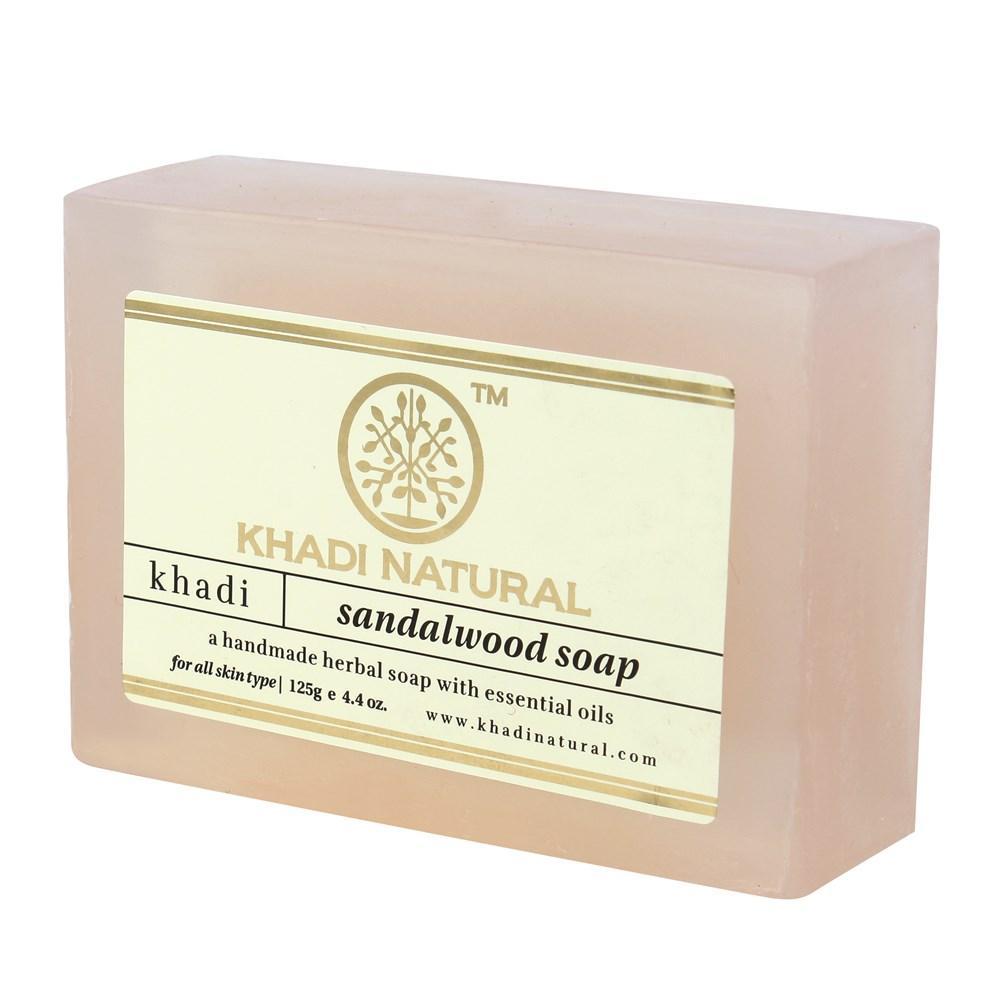 Натуральне аюрведичне мило Сандал Кхаді 125 г Khadi Sandalwood Soap
