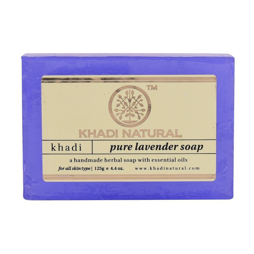 Натуральное аюрведическое мыло Лаванда Кхади 125 г Khadi pure Lavander soap