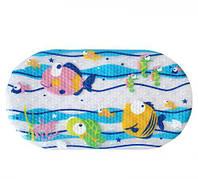 """Коврик для ванной """"Рыбки"""", клеенка,коврик,Игрушки новые"""