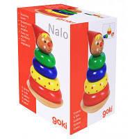 Развивающая игрушка Goki Пирамидка Nalo (58896)