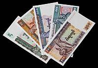 Набор банкнот Мьянмы (5 шт) UNC, фото 1