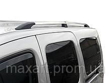 Renault Kangoo 2008-2019 гг. Рейлинги хром Стандартная база, Пластиковые ножки