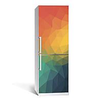Наклейка на холодильник Zatarga Абстракция РАСПРОДАЖА в связи с неточностью печати виниловая 3Д наклейка декор