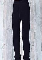 Подростковые термо лосины Шубка на меху черные. Верблюжья шерсть XXL (152-164 р), фото 1