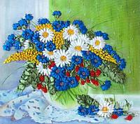 НЛ-3014 Полевые цветы на окне. Набор для вышивания лентами