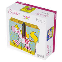 Кубики Goki Мои друзья Susibelle (57511)
