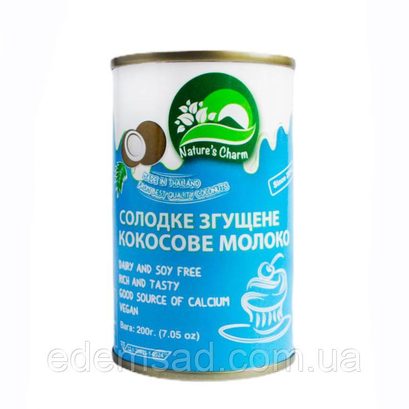 Кокосове молоко згущене, 200мл Натур Шарм