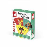 Настольная игра Janod Happy Families Цирк (J02755)