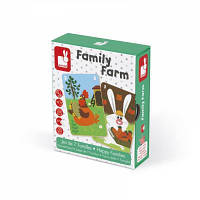 Настольная игра Janod Happy Families Ферма (J02756)