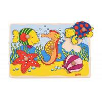 Развивающая игрушка Goki Морские жители (57515G-4)