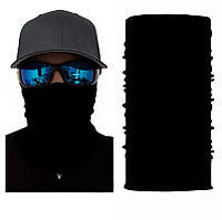 Бафф чорний на обличчя універсальний захисний
