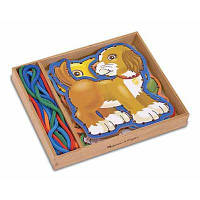 Развивающая игрушка Melissa&Doug Шнуровка Домашние животные (MD3782)