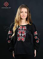 Женская рубашка с вышивкой 0077, фото 1